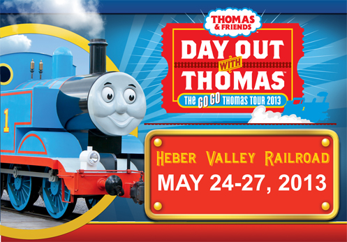 Thomas the Train Heber Valley Utah