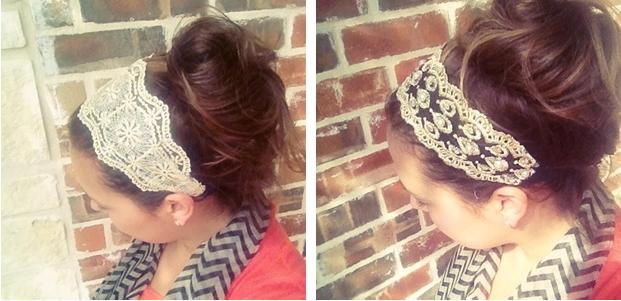 Vintage lace 2 Vintage Lace headbands (3 options) $4.99