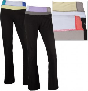 bally total fitness stretch yoga pants 288x300 Bally Fitness Yoga Pants, 2 for $29.99 Shipped