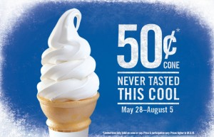 burger king 50 cent cones
