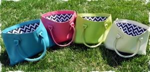 chevron charleston handbags