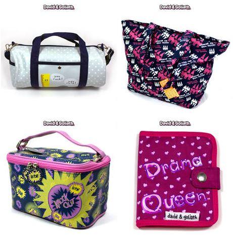 david and goliath totes & purses