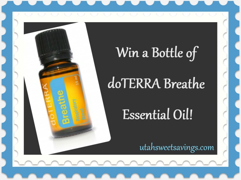 doTerra Breathe Giveaway 1024x768 Winner Winner!!  FOUR Giveaway Winners Announced!