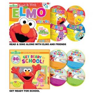 elmo read & sing CD & Book sets