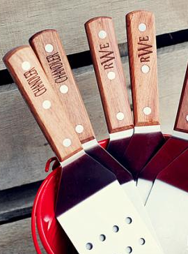 fathers day personalized grilling spatula