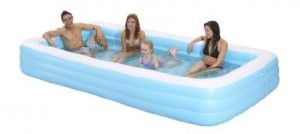 inflatable family pool 300x134 Giant Inflatable Rectangular Family Pool for $39.95 Shipped