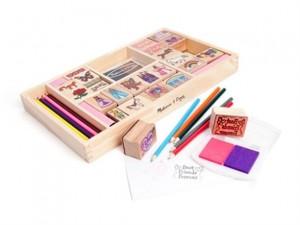melissa and doug 38 piece stamp set