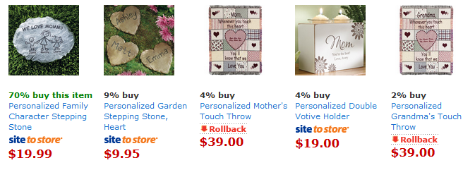 mom walmart 2 Personalized Mothers Day Gift Ideas from Walmart