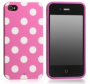 polka dot flex phone case