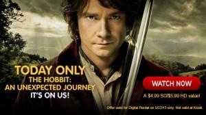 redbox hobbit deal