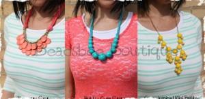 statement necklace blowout