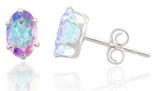 topaz earrings Mercury Mist Topaz Studs $4.99 shipped