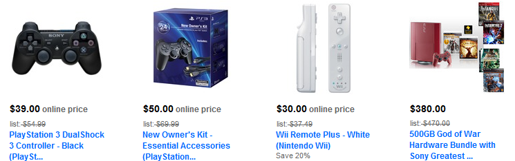 wii accessories Wii & PS2 games, accessories and controllers up to 33% off + free shipping