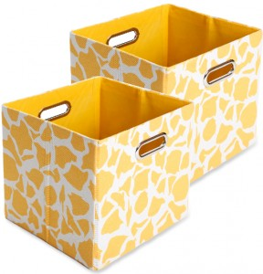 2 Pack Decorative Storage Bins