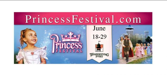 Princess Festival 2013 Giveaway:  The Princess Festival at Thanksgiving Point!