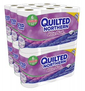 Quilted northern ultra plush 282x300 *Super Hot* Quilted Northern Ultra Plush Bath Tissue for 19¢ 22¢/reg roll!