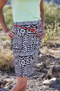 aztec pencil skirts