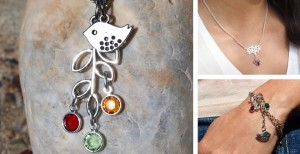 birthstone bracelets and necklaces