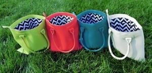 chevron richmond bags