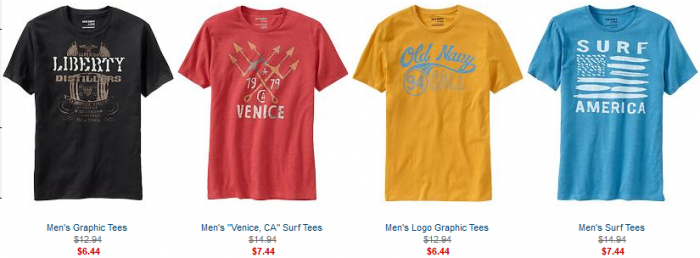 graphic tees old navy