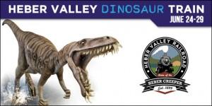 heber valley dinosaur train