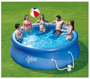 inflatable quick set swimming pool