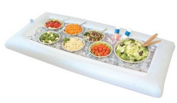 inflatable salad bar Summer Camping Food Serving ideas