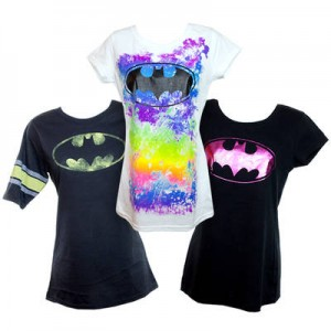 ladies 2 pack batman tshirts