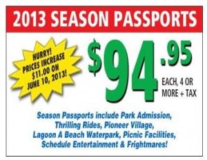 lagoon season tickets