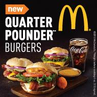 mcdonalds quarter pounder free mycokerewards deal