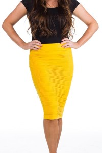 scrunchy skirts