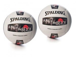 spalding king of the beach volleyball 2 pack