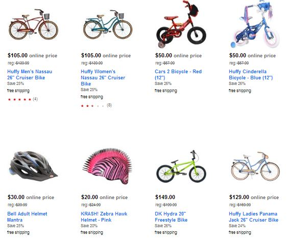 target bike sale