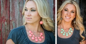 two row bubble necklace
