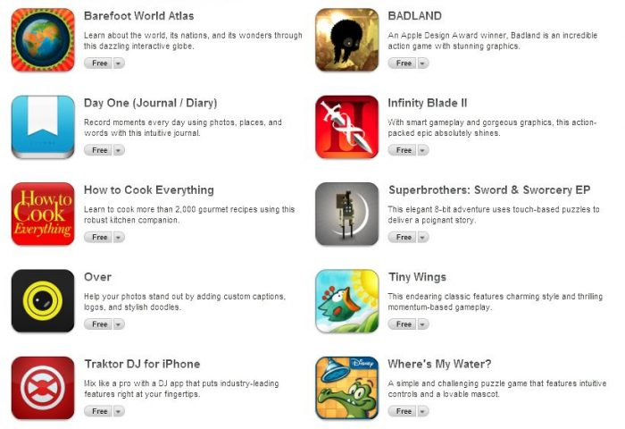 10 free apps