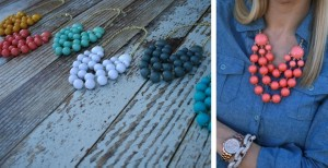 3 layer bubble necklace