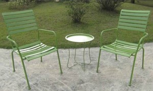 3 piece outdoor bistro set