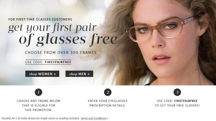 Coastal Free Prescription Glasses   Just pay $13 in Shipping!