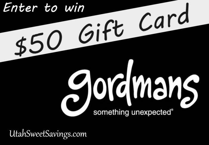 Gordmans Giveaway Giveaway!  $50 Gift Card to Gordmans + Rewards Club!