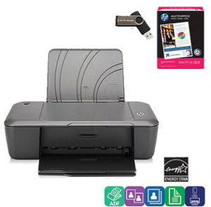 HP Deskjet 1000 Printer Back to School Value Bundle