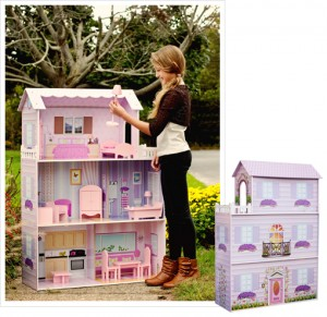 Teamson Eco Friendly Fancy Doll Dreamhouse