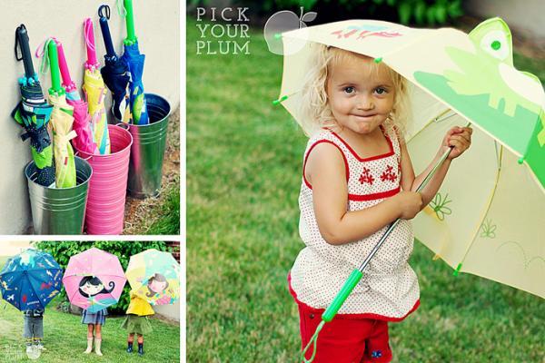 Umbrellas Pick Your Plum