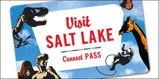 Visit Salt Lake City Connect Pass 365 Day Visit Salt Lake Connect Pass: Includes Hogle Zoo, The Leonardo, Tracy Aviary + MORE!  $48