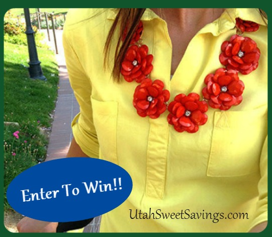 andRuby Beaded Rose Necklace Giveaway