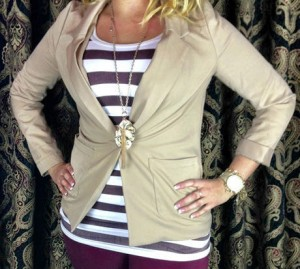 andRuby Striped Tank