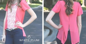 caroline lace blouse