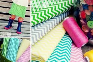 chevron fabric deal