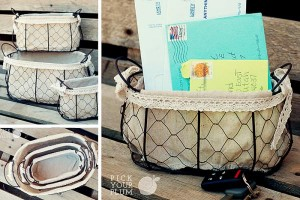 chicken wire baskets