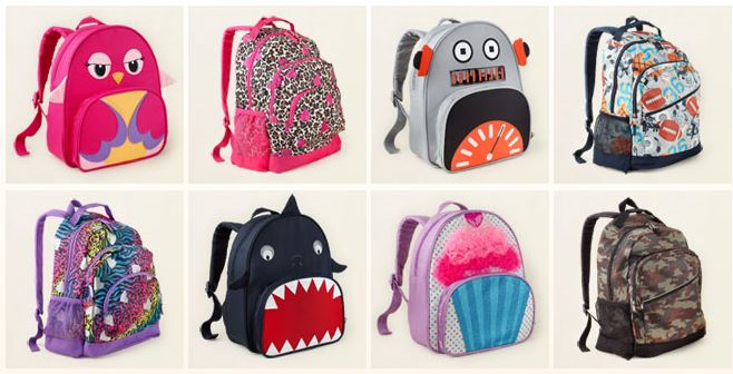 childrens place backpacks