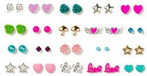 claires 20 stud earrings deal